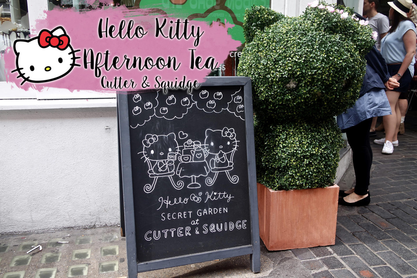 Hello Kitty Afternoon Tea, Cutter and Squidge    Food & Drink