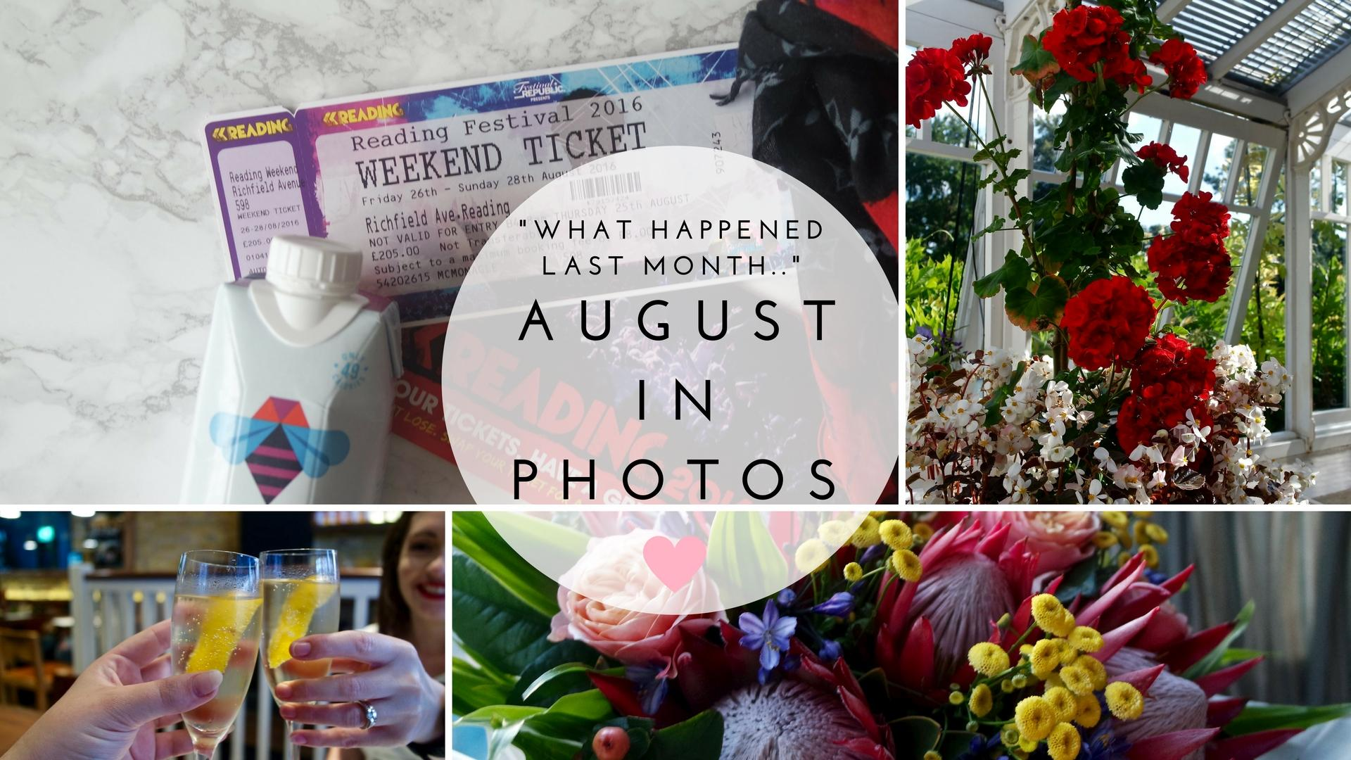 August In Photos