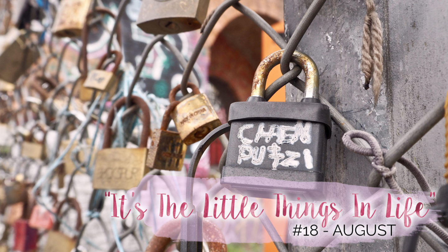 """""""It's The Little Things In Life"""" – 18 – August 