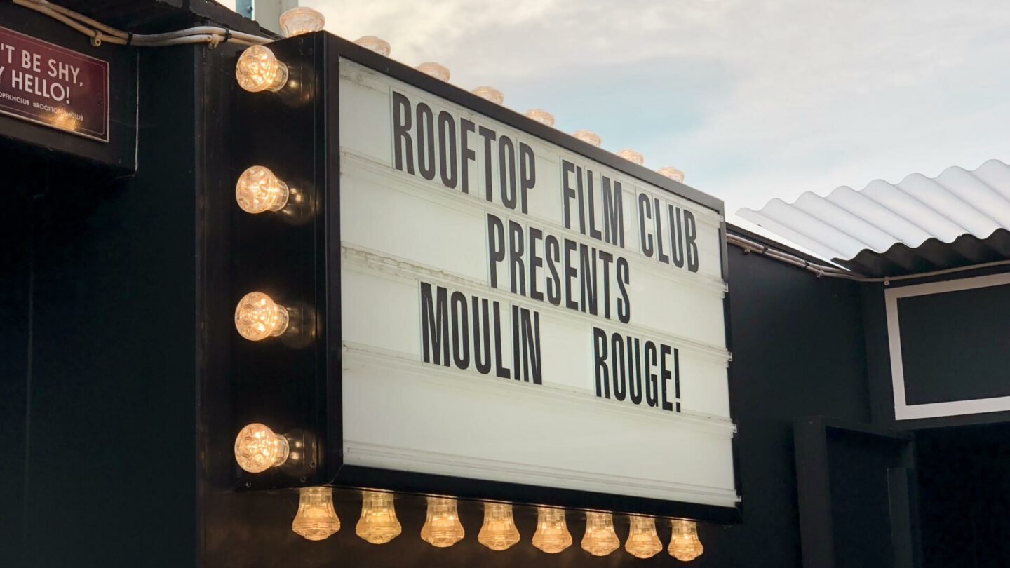 Moulin Rouge at Rooftop Film Club, Bussey Building || London