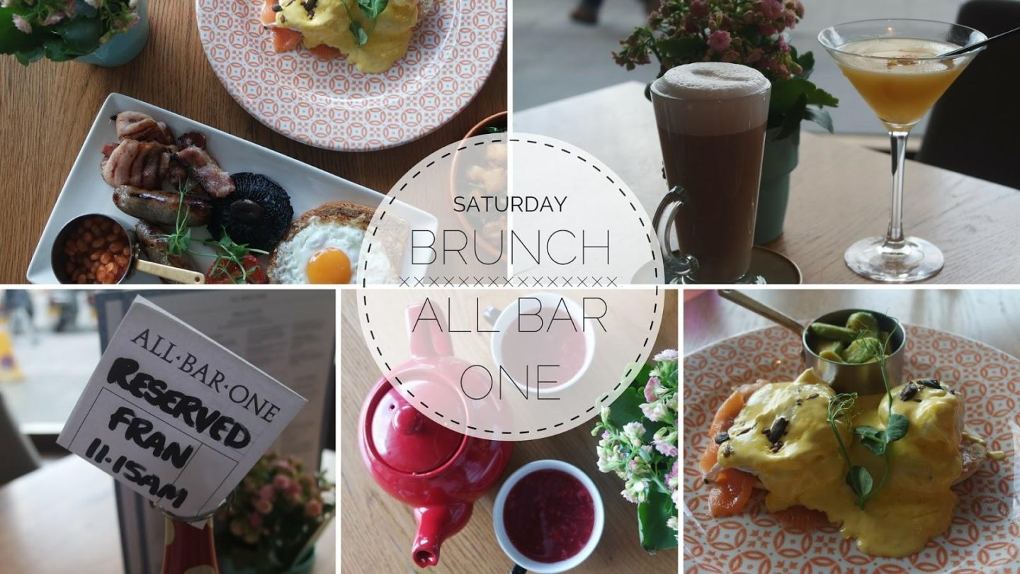 Brunch At All Bar One || Food & Drink