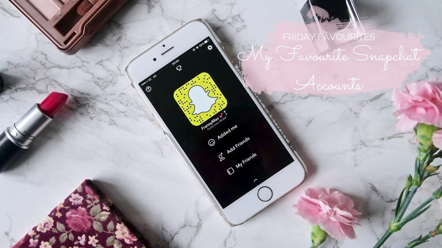 My Favourite Snapchat Accounts || Friday Favourites