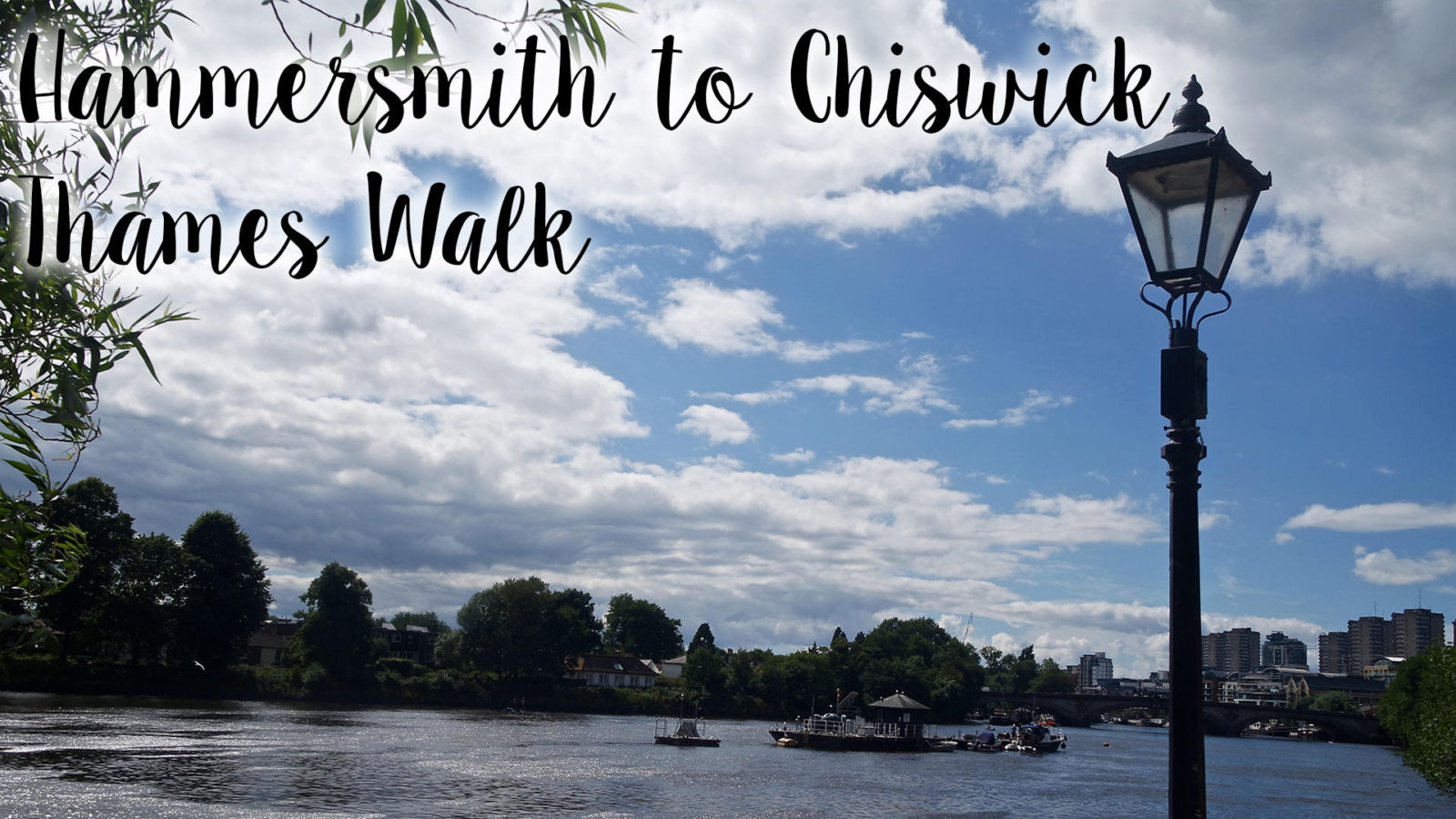Hammersmith to Chiswick Thames Walk