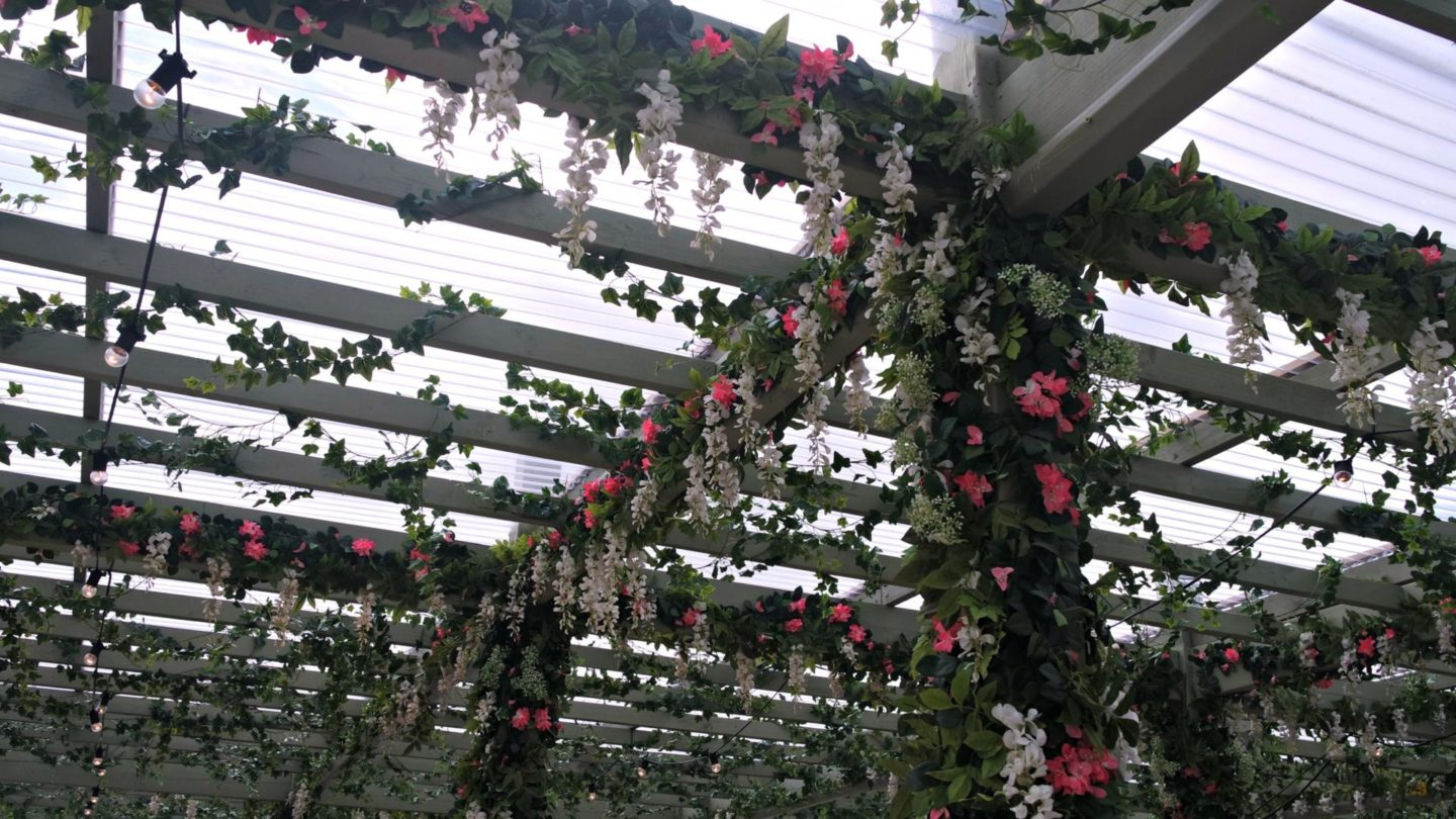 Pergola On The Roof