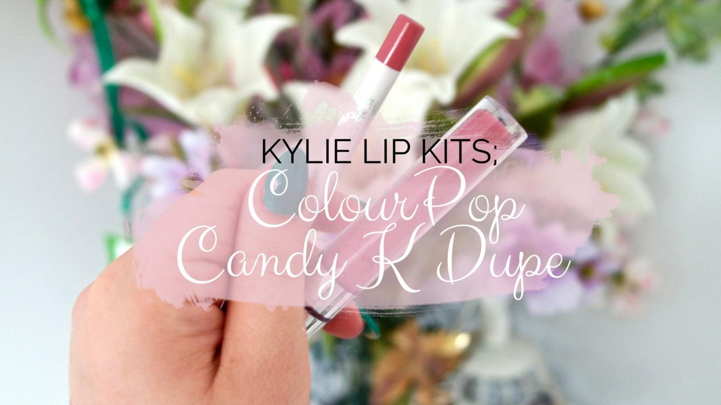 Candy K Lip Kit Dupe by ColourPop || Beauty