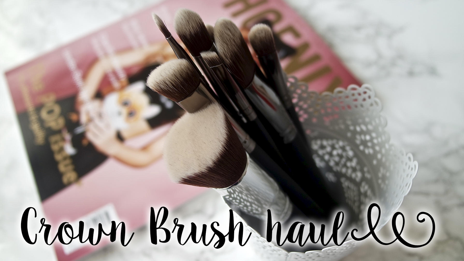 Makeup Brush Haul - Crown Brush