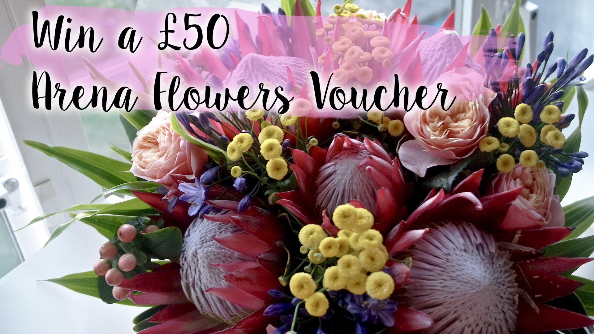 Arena Flowers - Luxury Flowers and Bouquets || £50 Voucher Giveaway