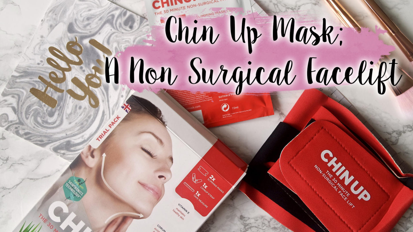 Chin Up Mask, The Non Surgical Face Lift || Beauty