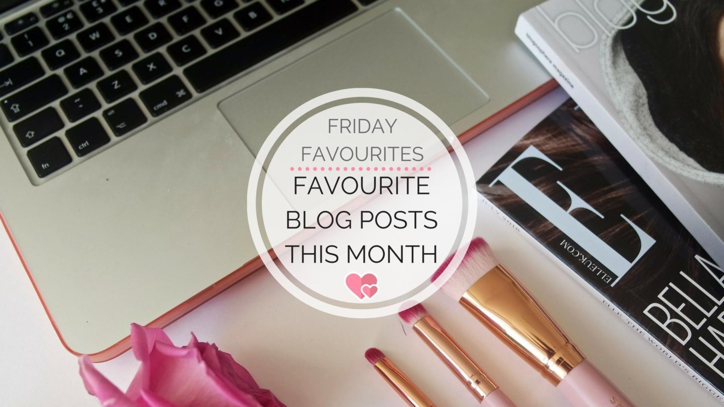 Favourite Blog Posts In October || Friday Favourites