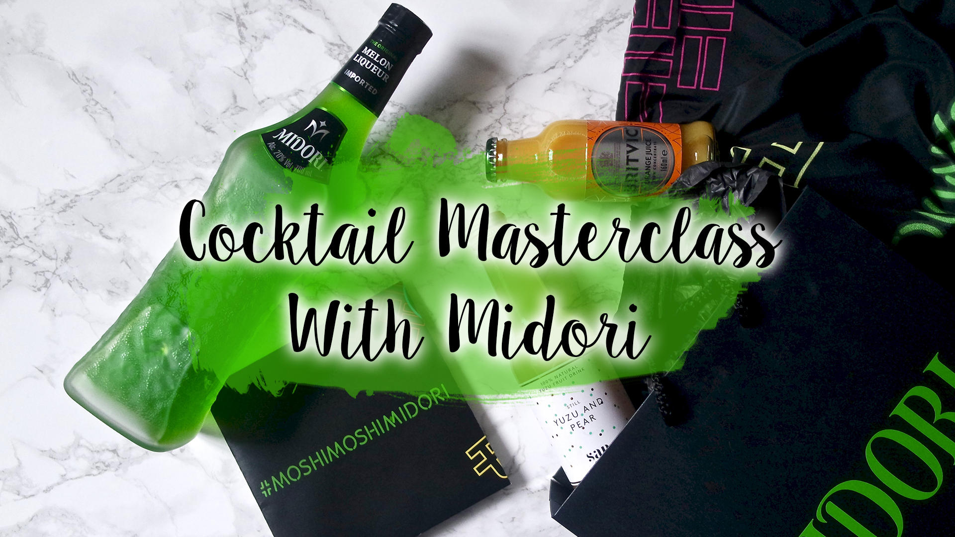 #MoshiMoshiMidori - Cocktail Masterclass With Midori || Food & Drink