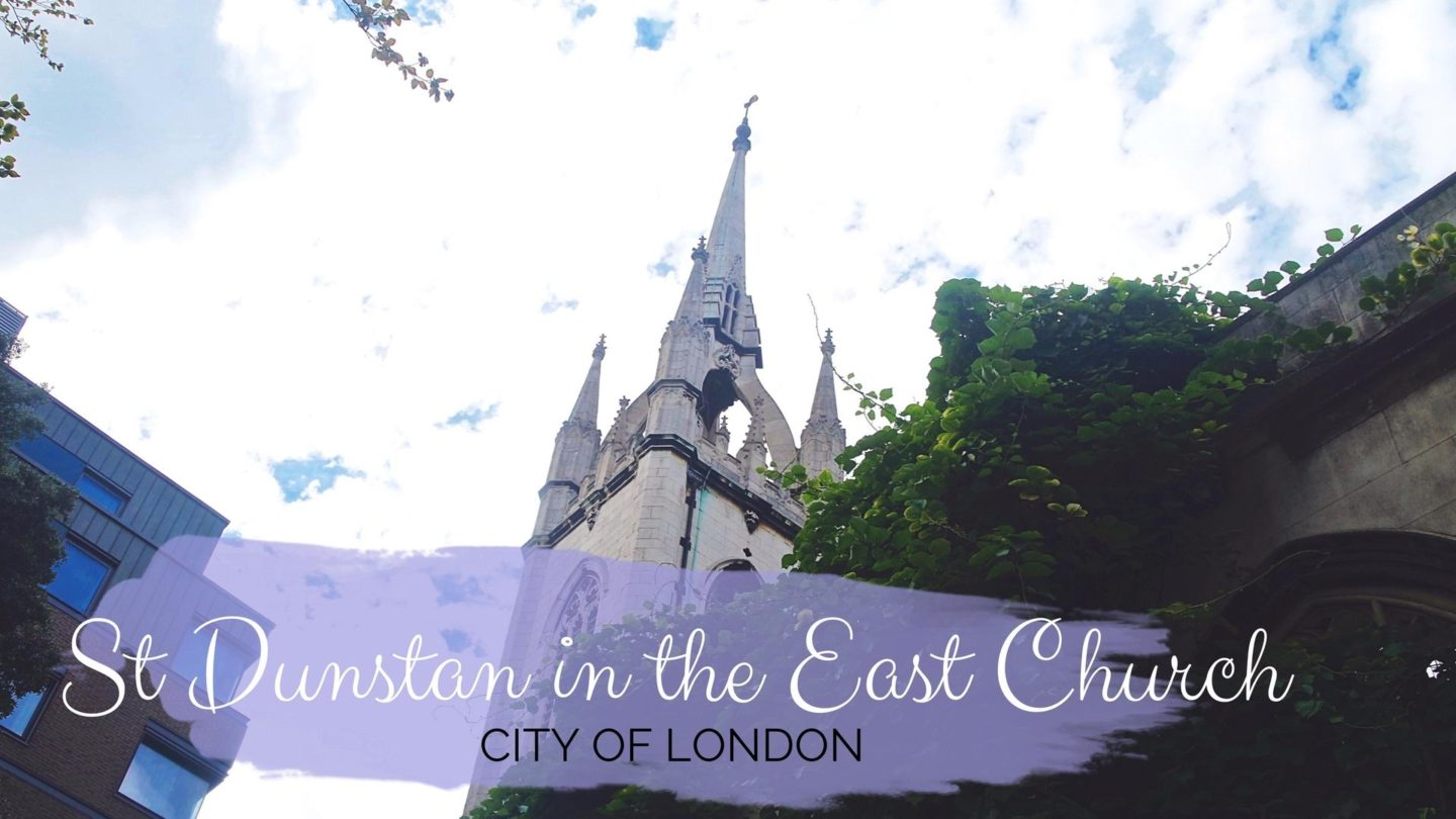 St Dunstan in the East Church, City Of London || Photo Diary