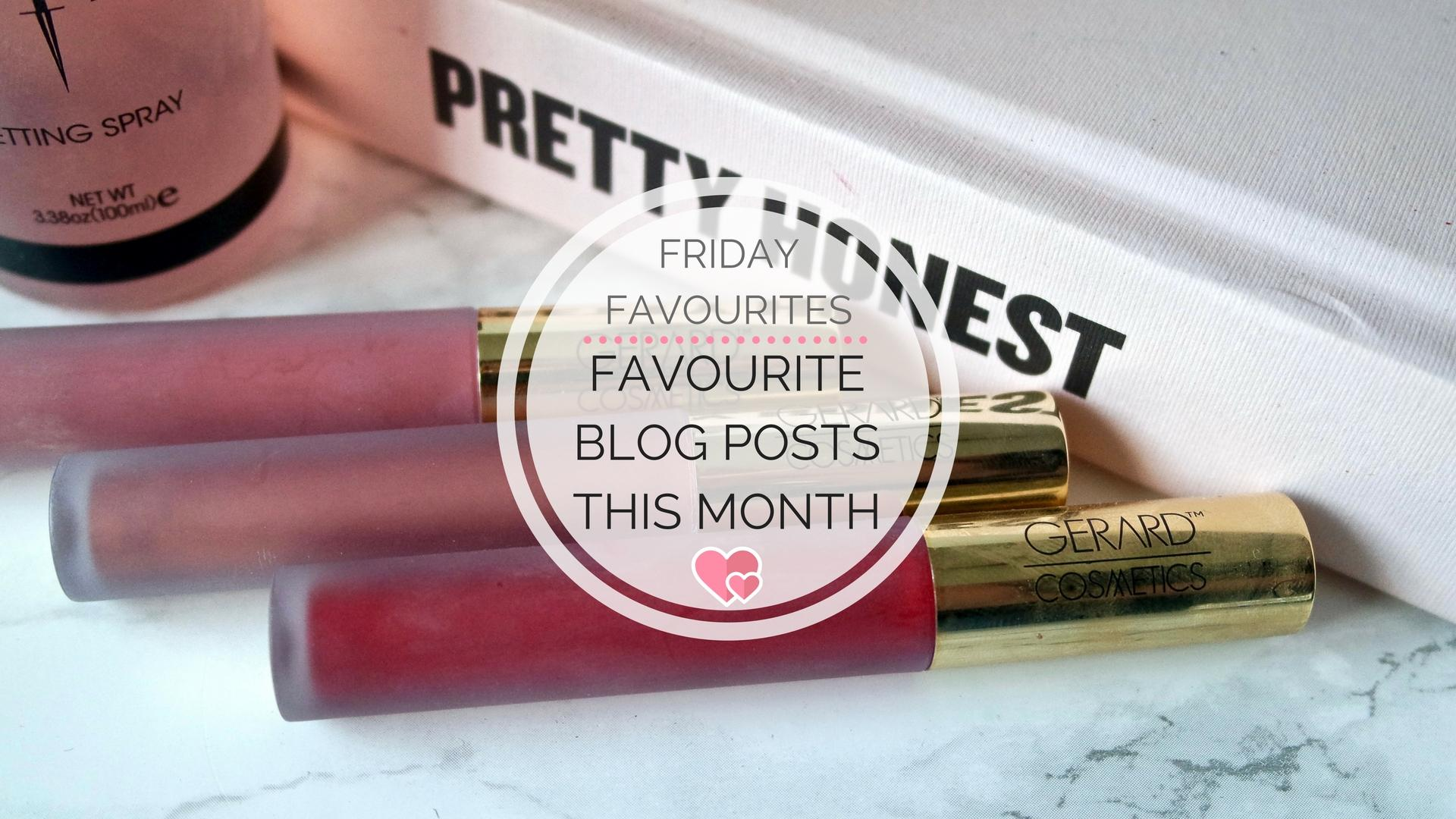 Favourite Blog Posts In December || Friday Favourites