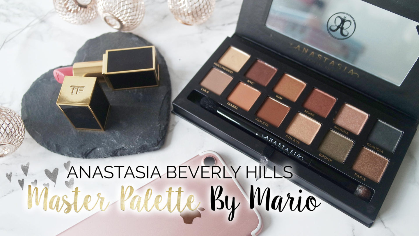 Anastasia Beverly Hills – Master Palette by Mario Review || Beauty