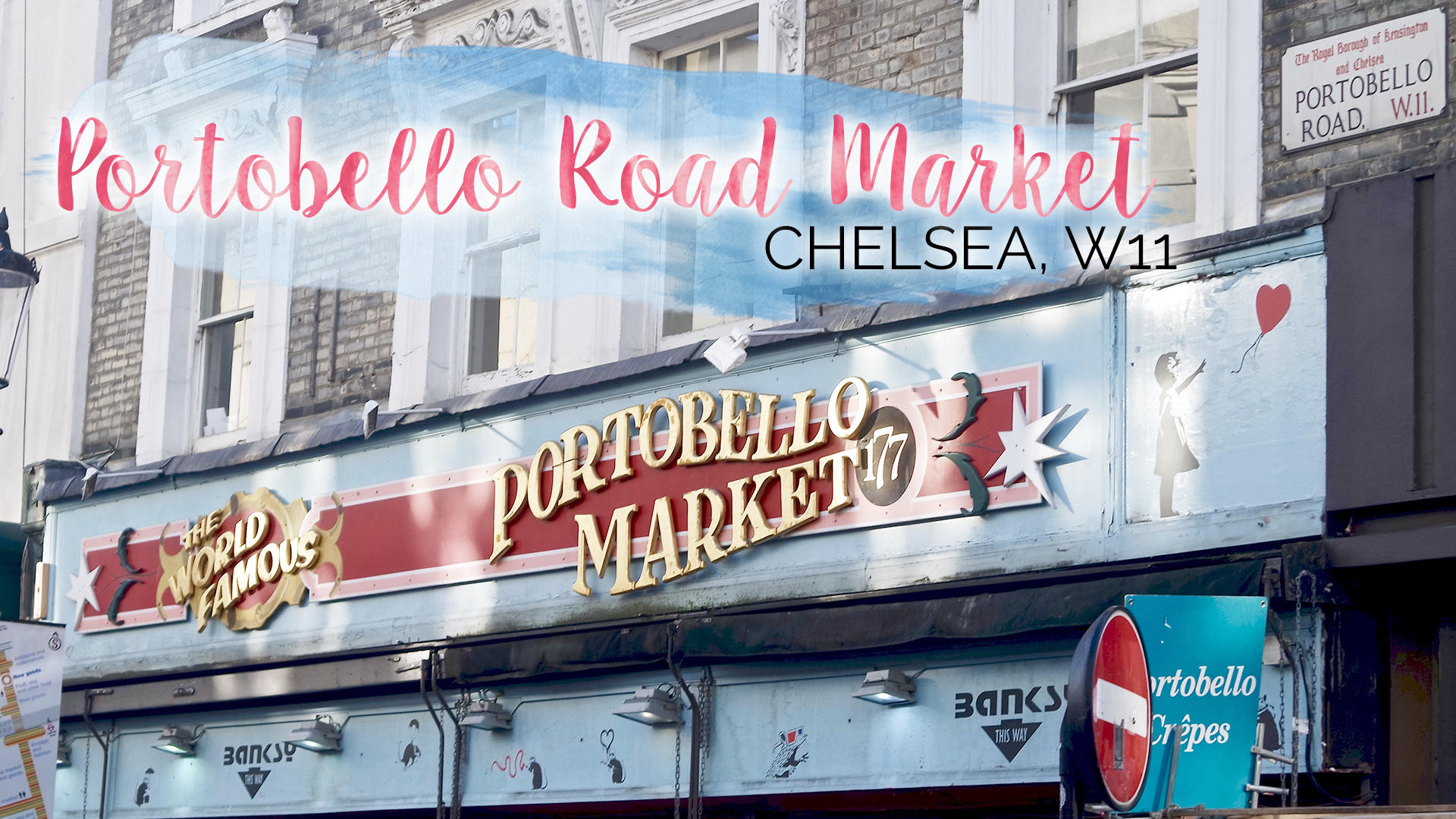 Saturday Mornings at Portobello Road, Chelsea || London
