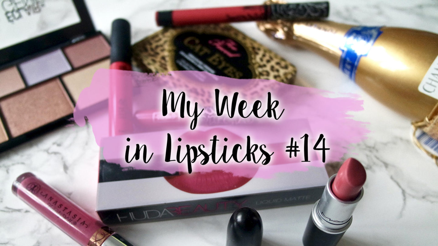 My Week In Lipsticks #14 || Life Lately
