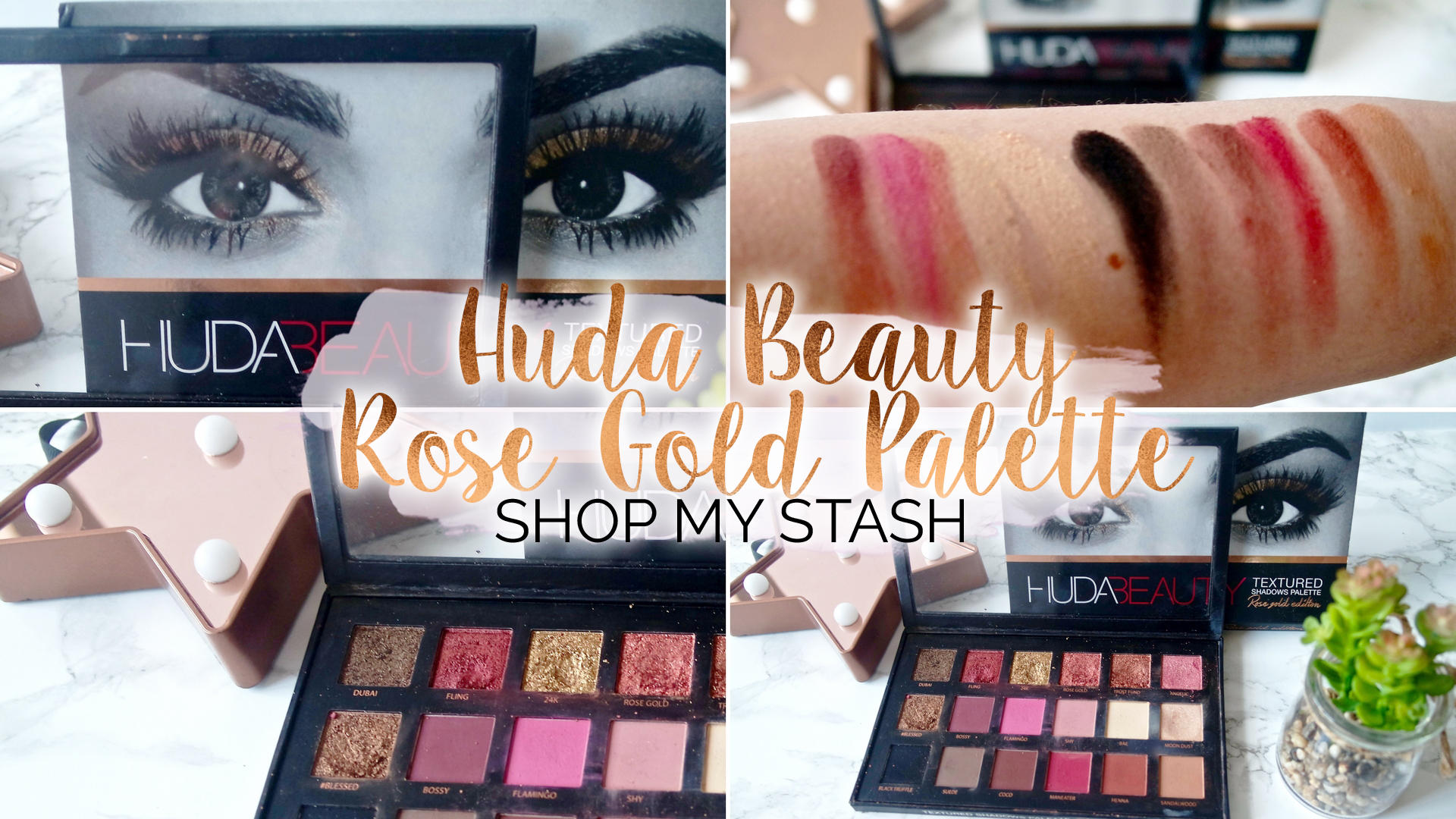 Huda Beauty - Rose Gold Palette (Shop My Stash) || Beauty