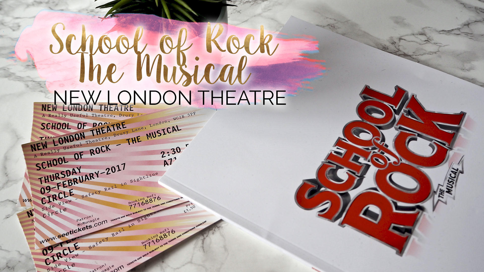 School Of Rock, The Musical - New London Theatre || London
