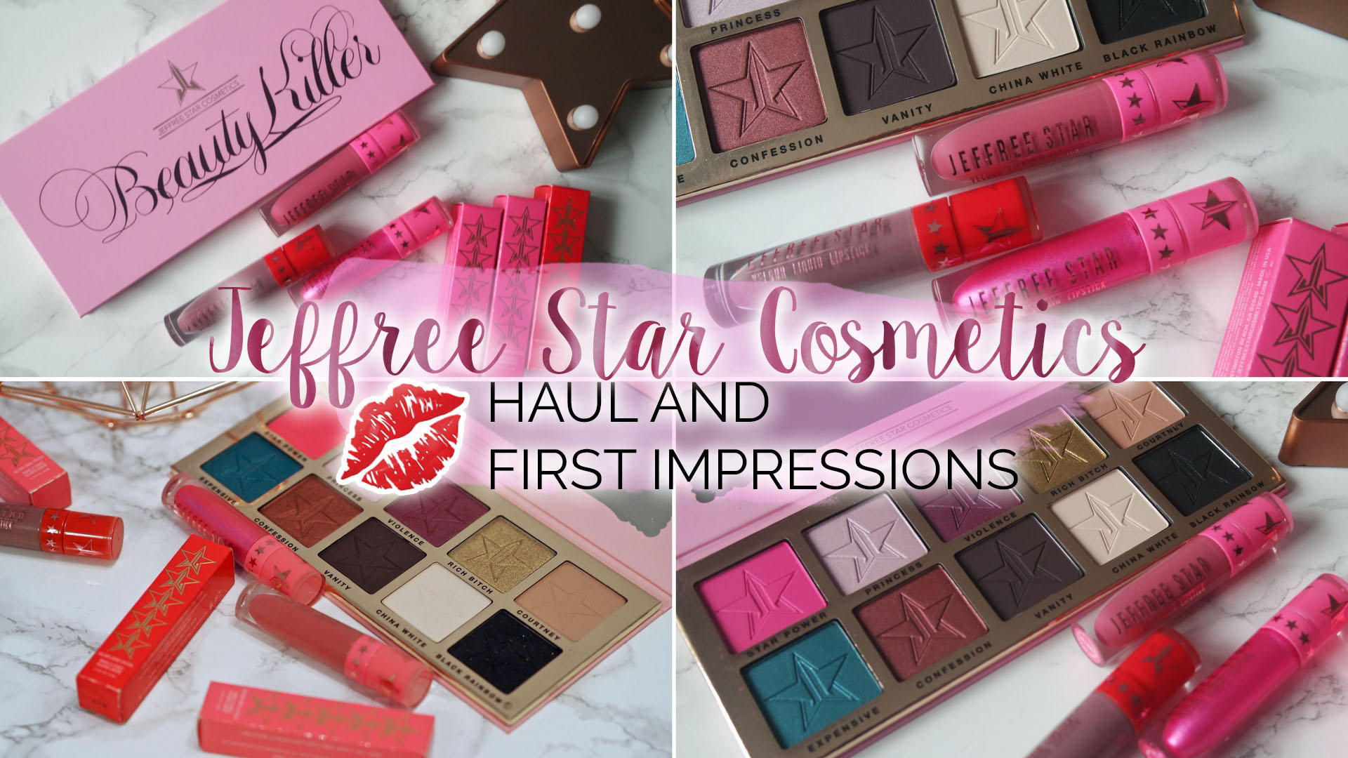 Jeffree Star Cosmetics - Haul & First Impressions || Beauty