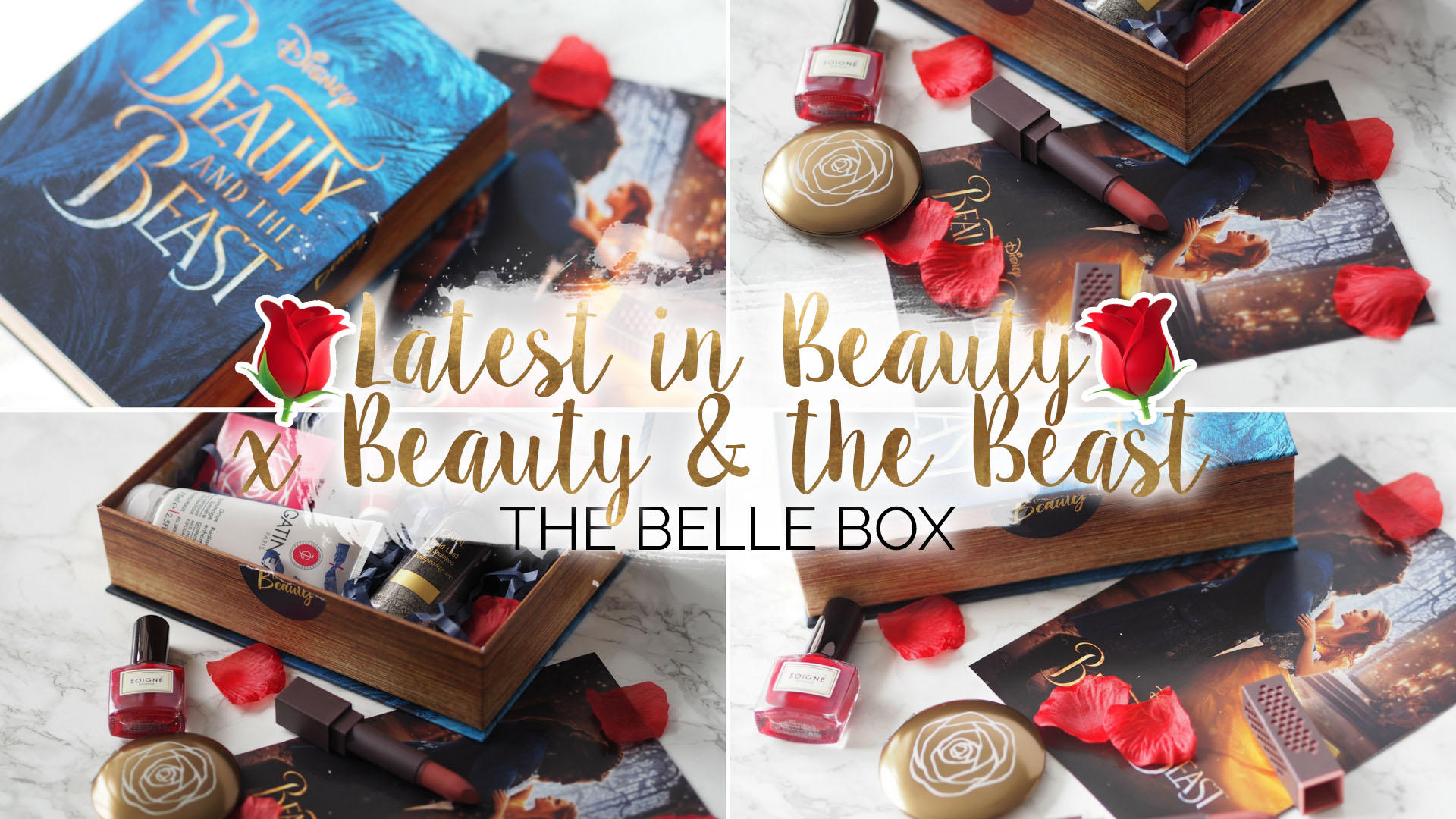 Latest in Beauty x Beauty & The Beast - The Belle Box || Beauty