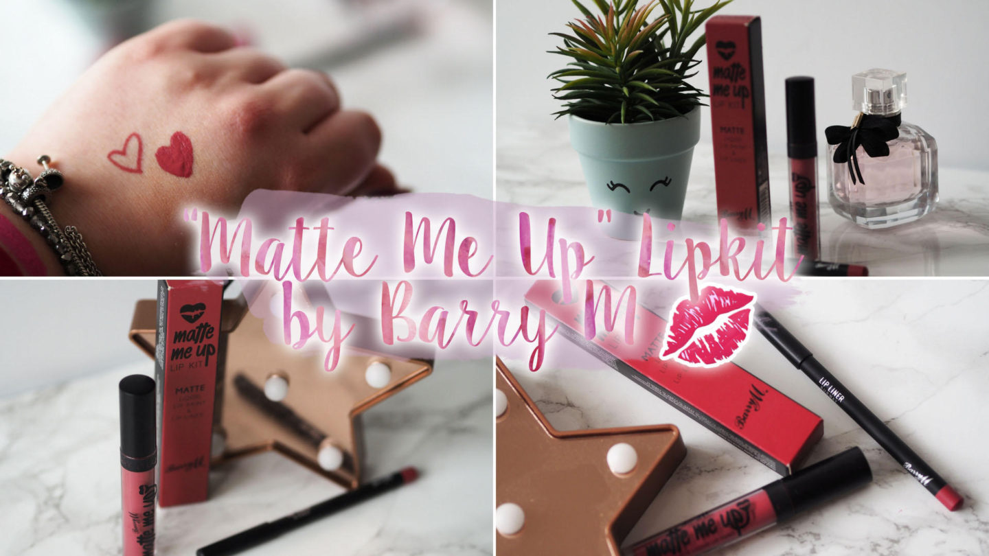 Barry M Matte Me Up Lip Kit in Runway || Beauty