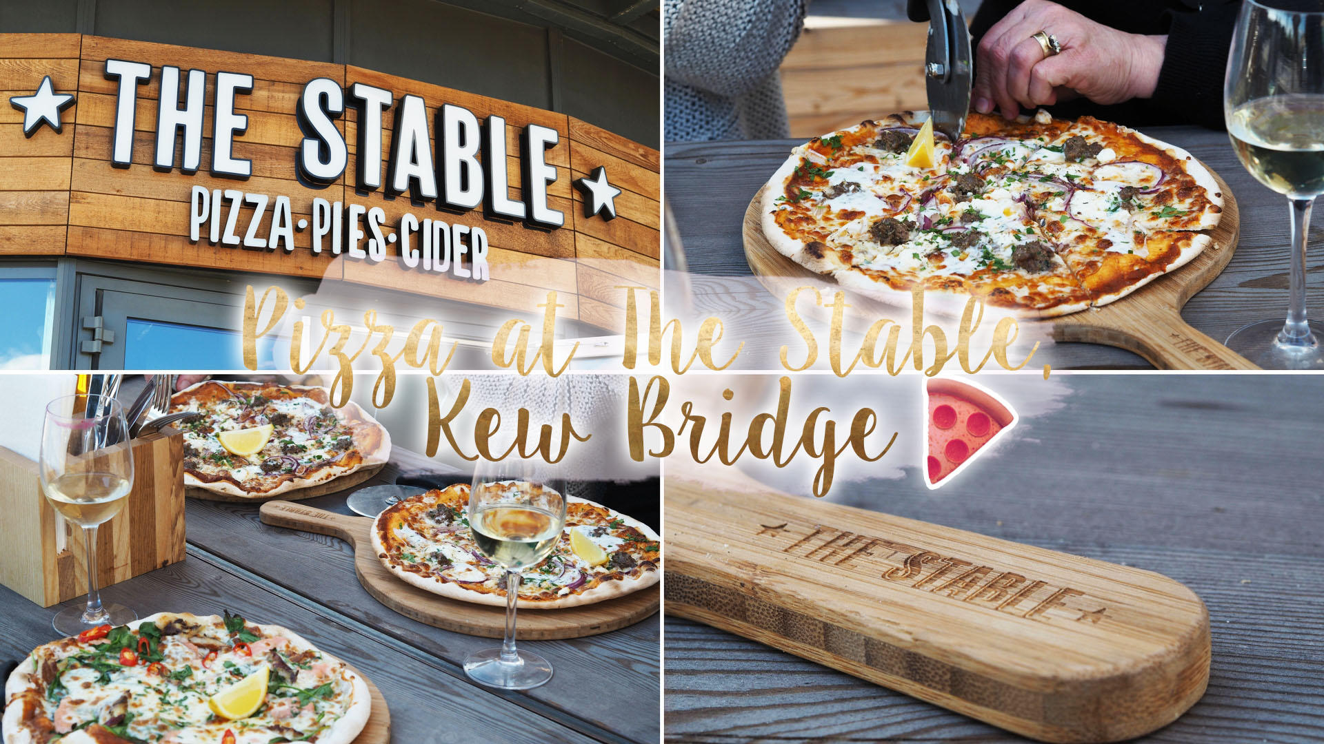 The Stable - Pizza, Pies and Cider, Kew Bridge || Food & Drink