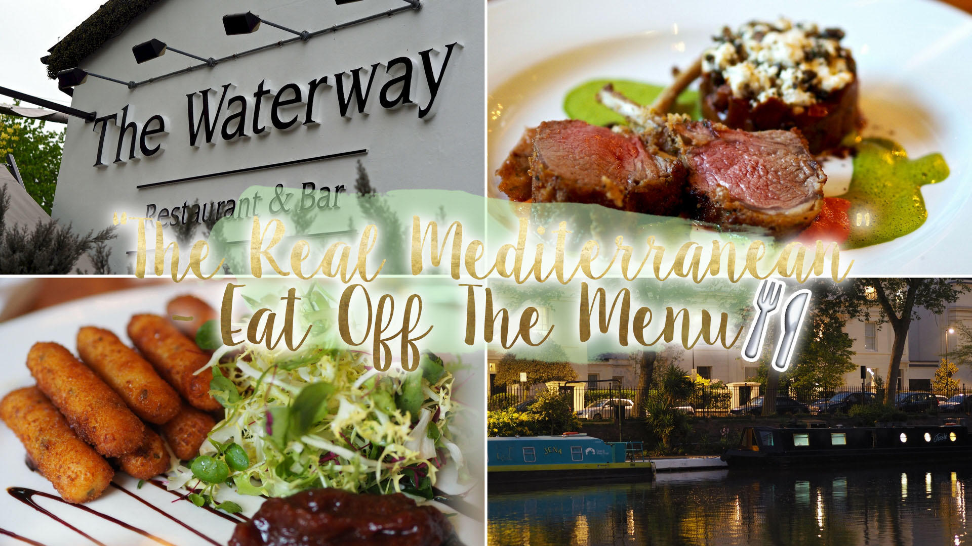 Eat Off The Menu - The Real Mediterranean, Maida Vale || Food & Drink