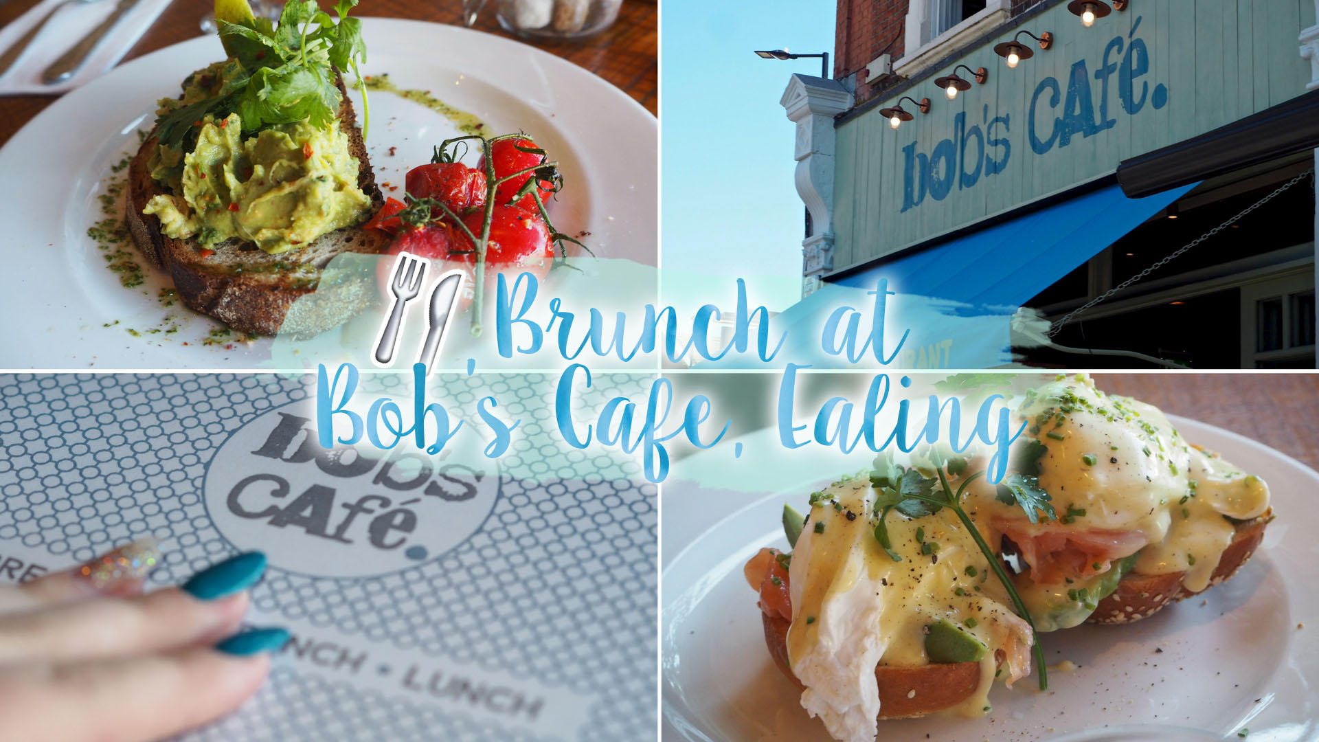 Brunch At Bob's Cafe, Ealing Broadway || Food & Drink