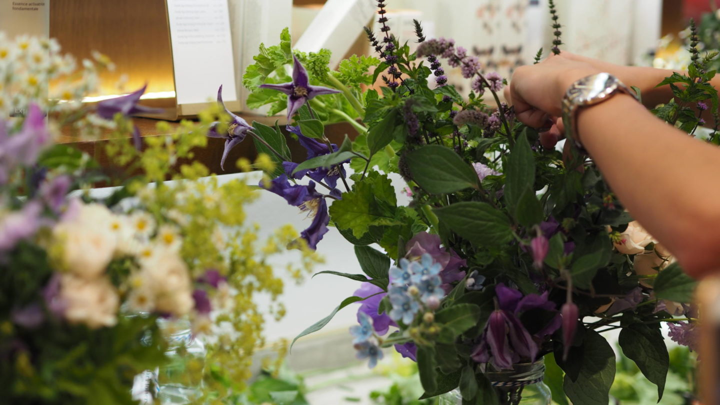 #HerbalRecovery - Evening with Jurlique & Jam Jar Flowers || Beauty
