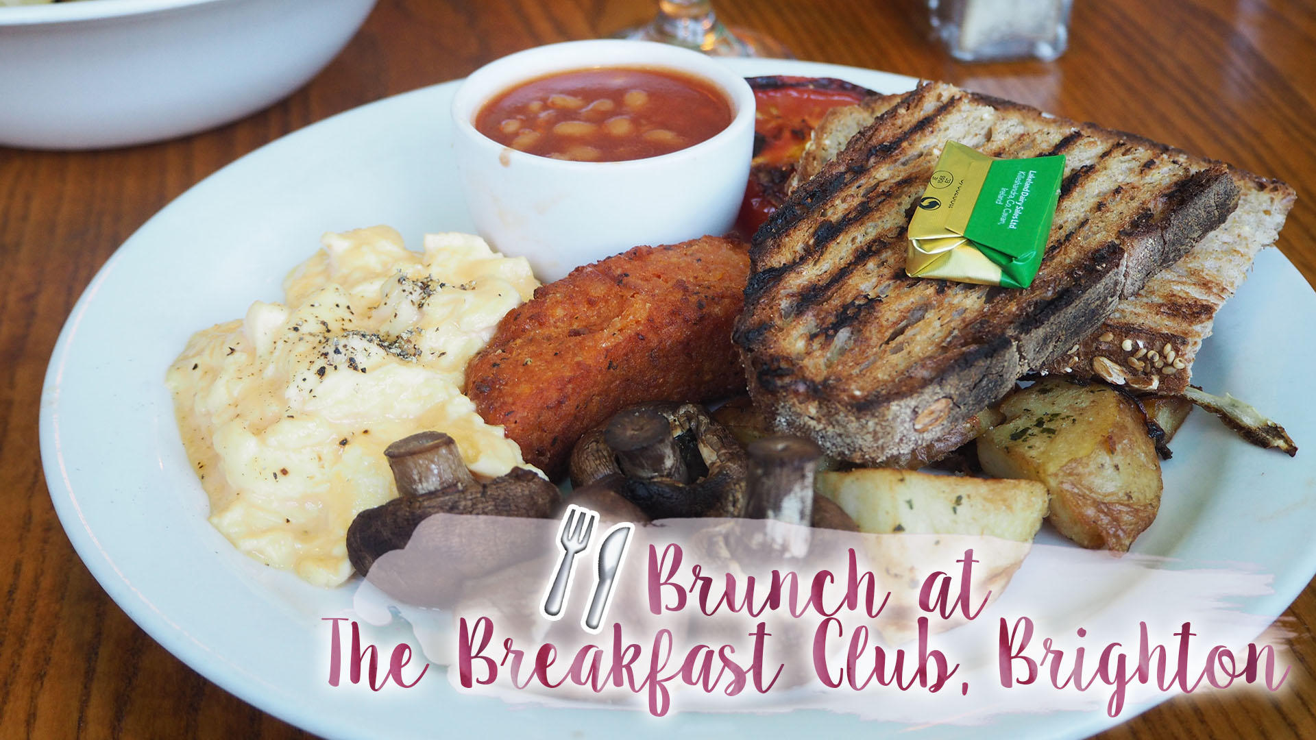 Brunch At The Breakfast Club, Brighton || Food Review