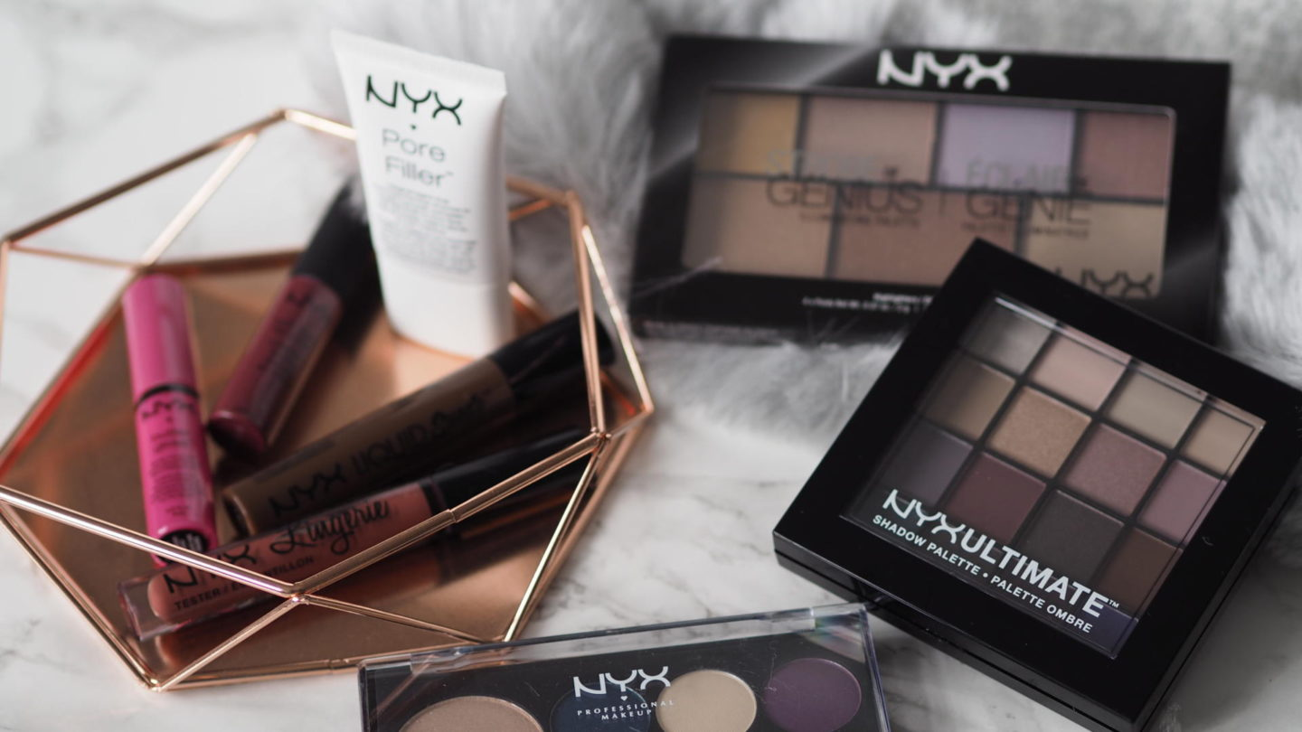 A NYX Haul From Debenhams (+ A Giveaway!) || Beauty