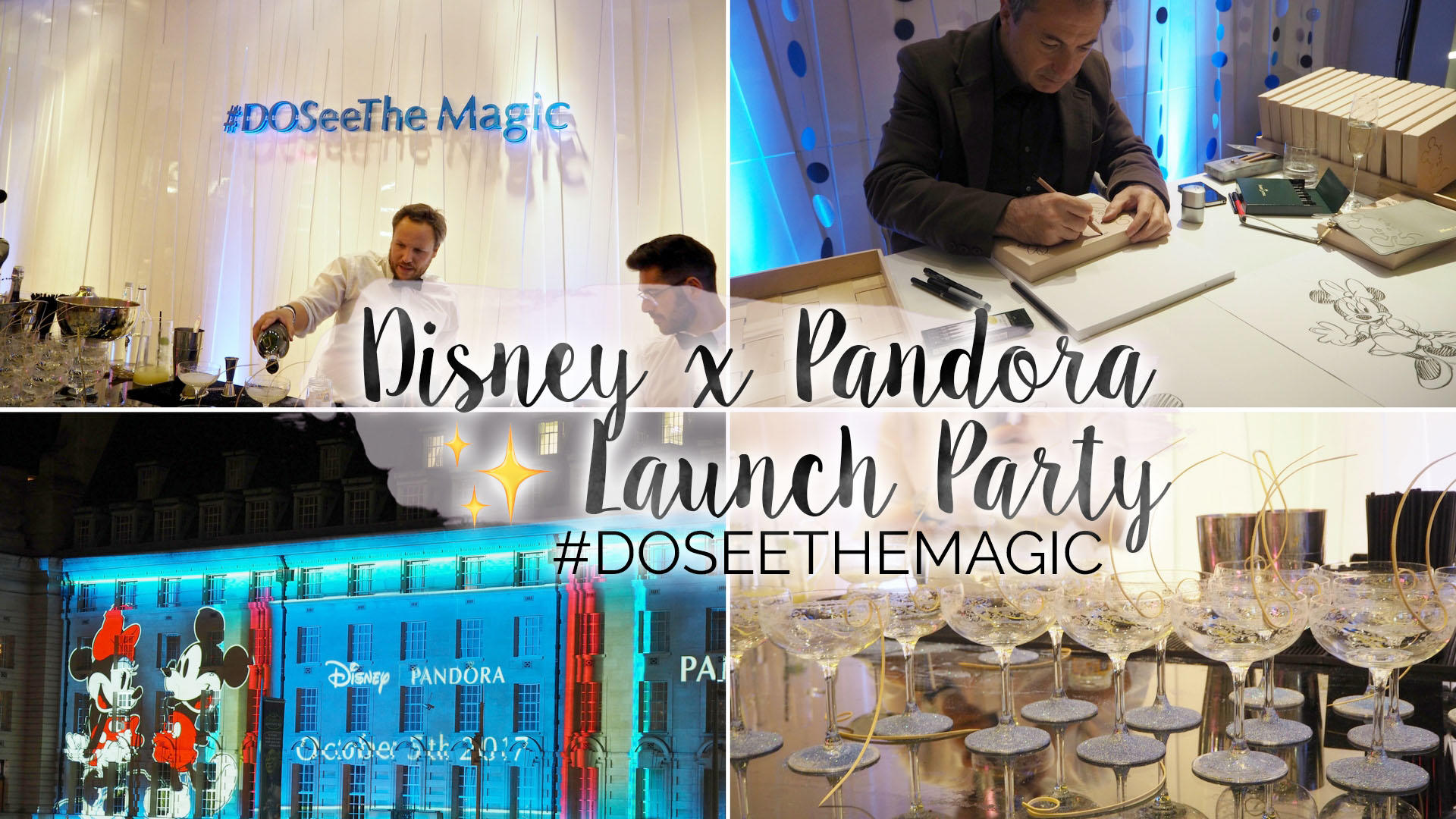 Pandora x Disney Launch Party - #DOSeeTheMagic || Life Lately