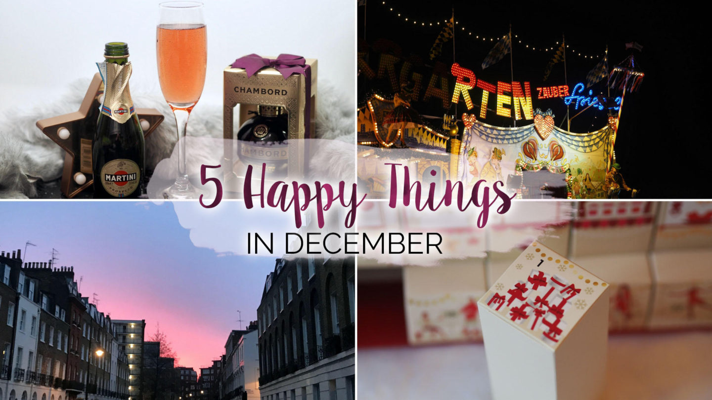 5 Happy Things – #16 – December || Life Lately