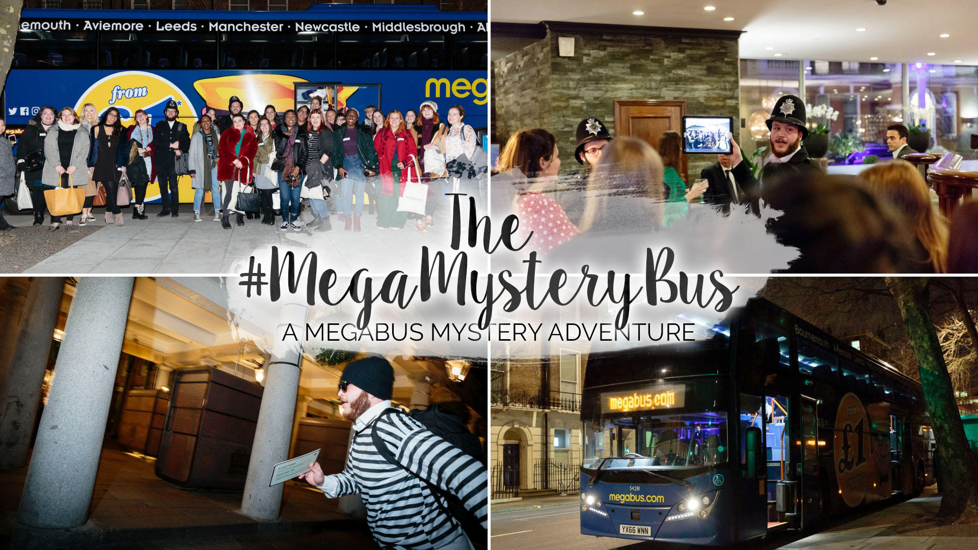 #MegaMysteryBus - A Megabus Mystery Adventure || London