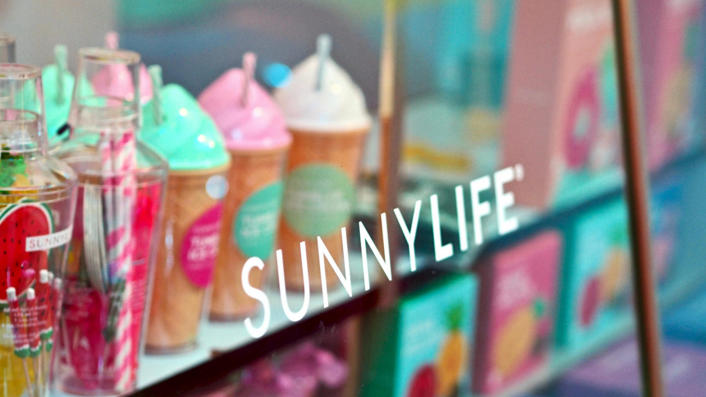 SunnyLife Poolside Pop-Up At John Lewis, Oxford Street || London
