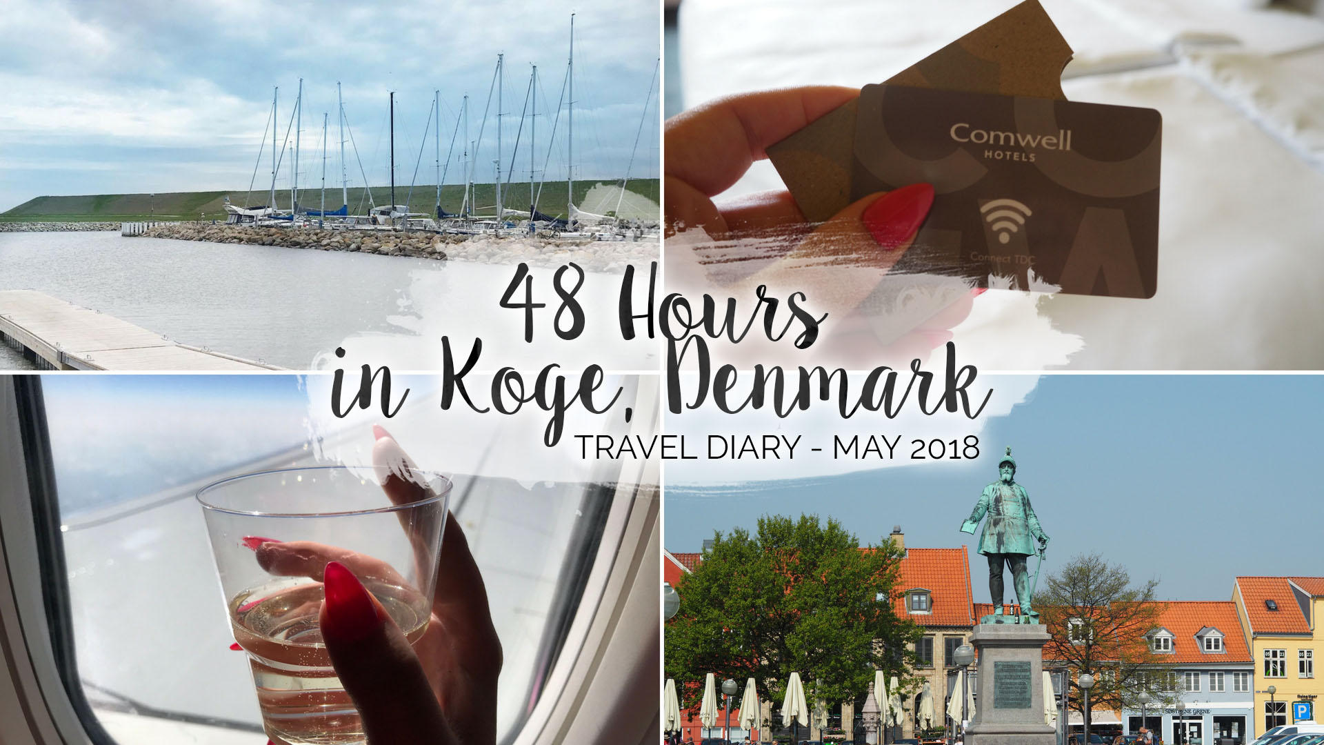 48 Hours In Køge, Denmark (May, 2018) || Travel