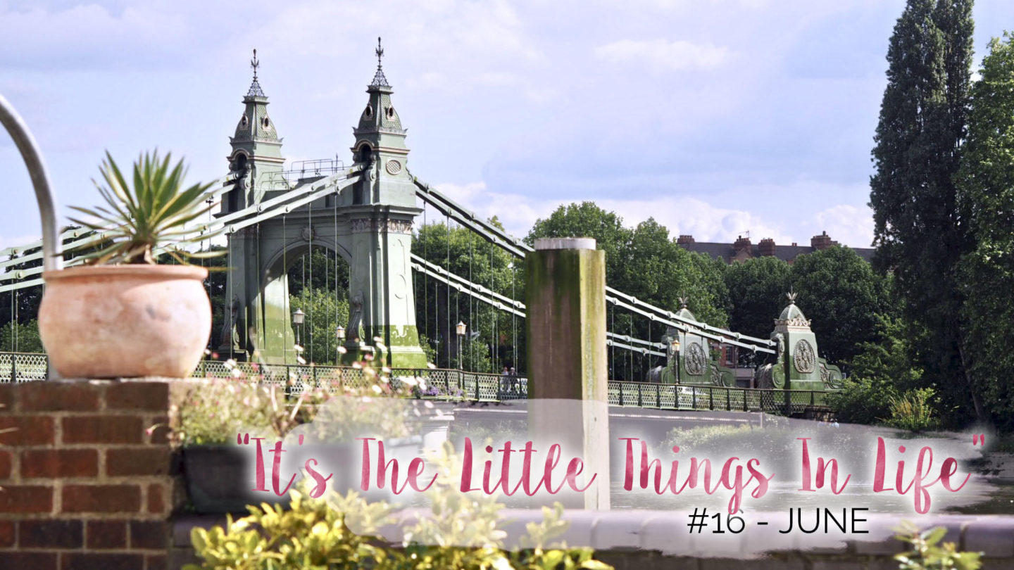"""It's The Little Things In Life"" – 16 – June 