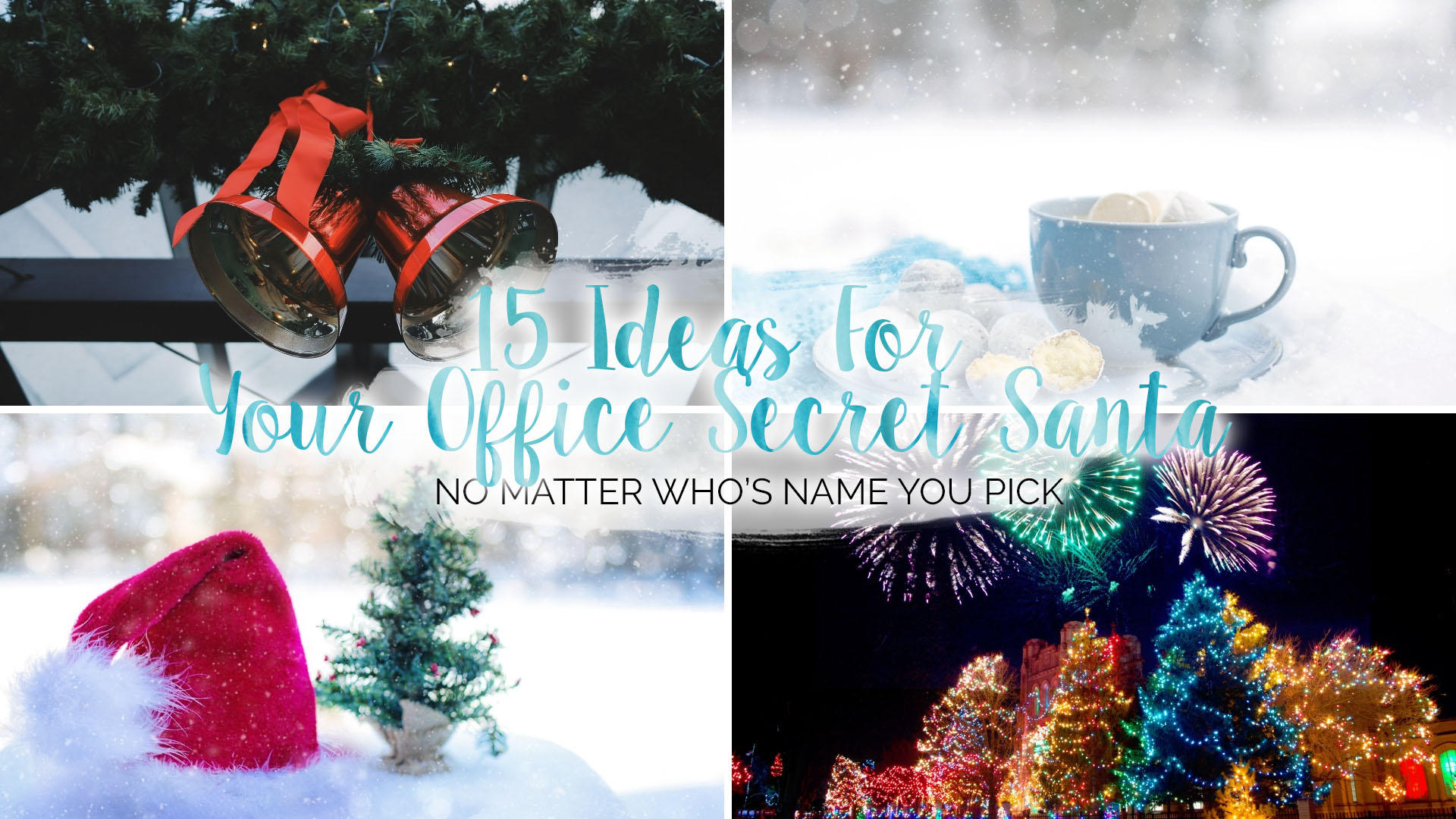 15 Ideas For Your Office Secret Santa || Life Lately