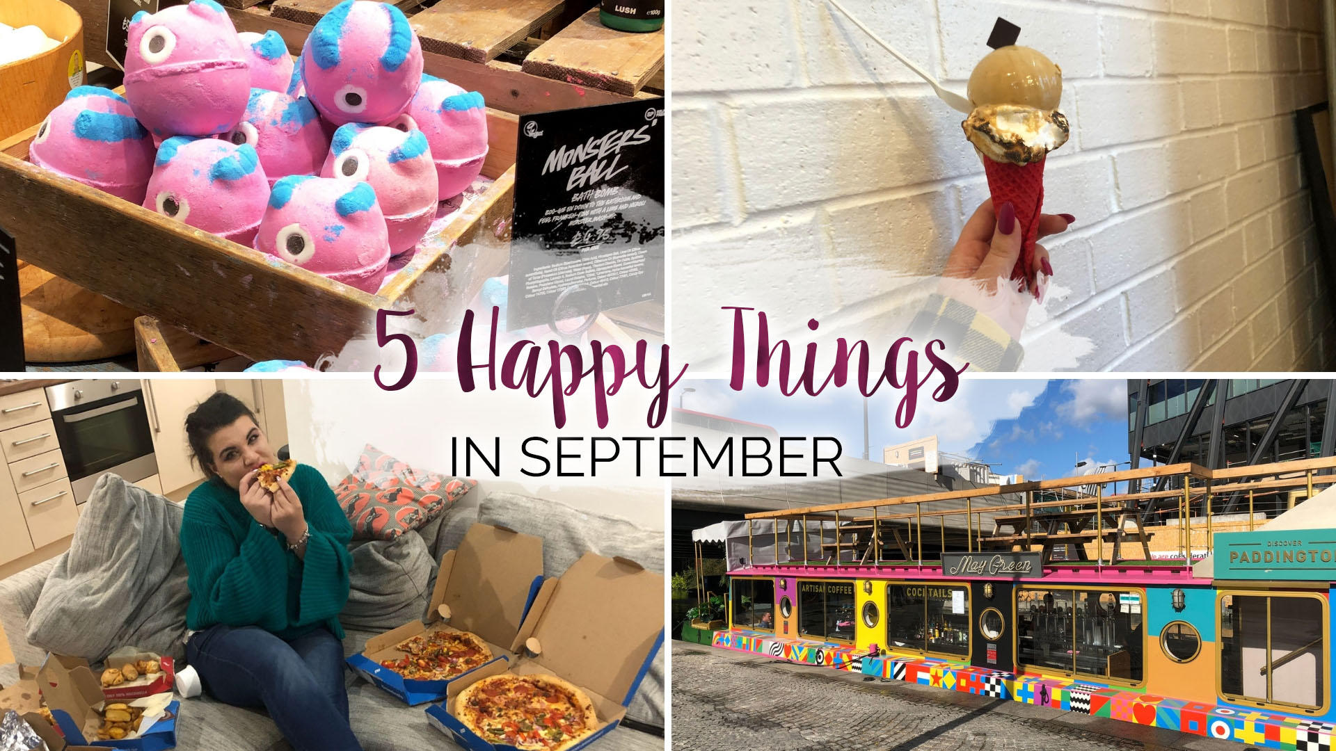 5 Happy Things - #25 - September || Life Lately
