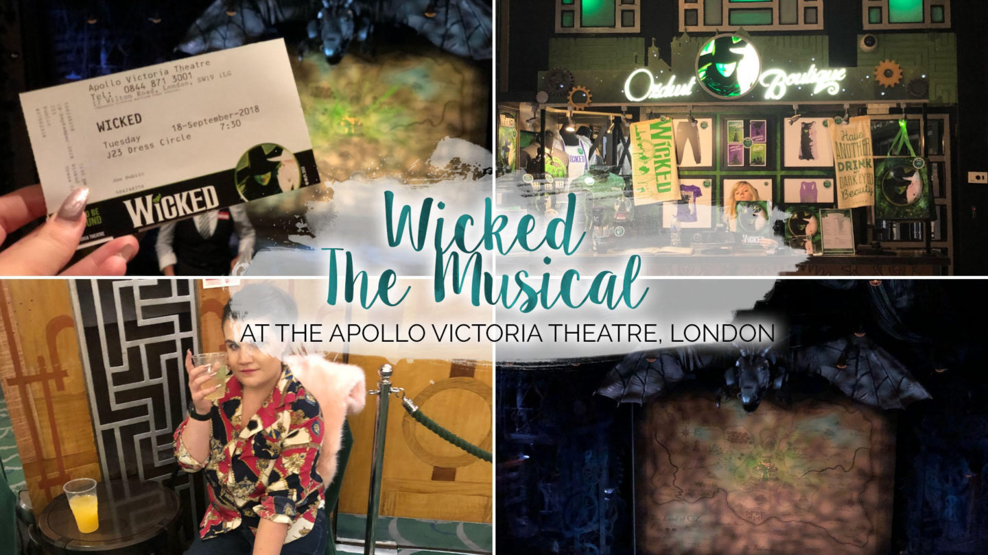 Wicked at the Apollo Victoria Theatre, Review || London