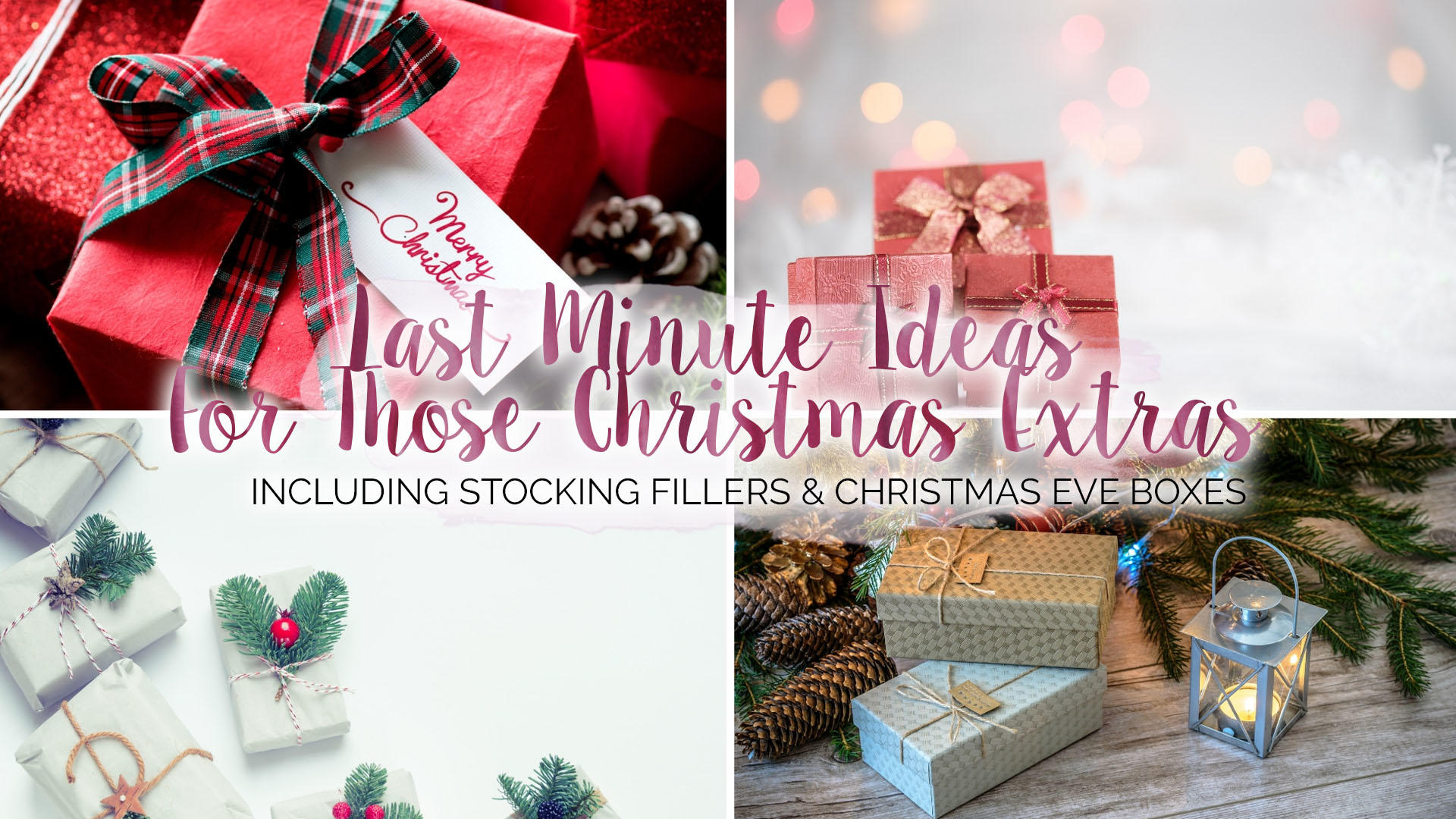 Last Minute Stocking Fillers and Christmas Eve Boxes* || Christmas