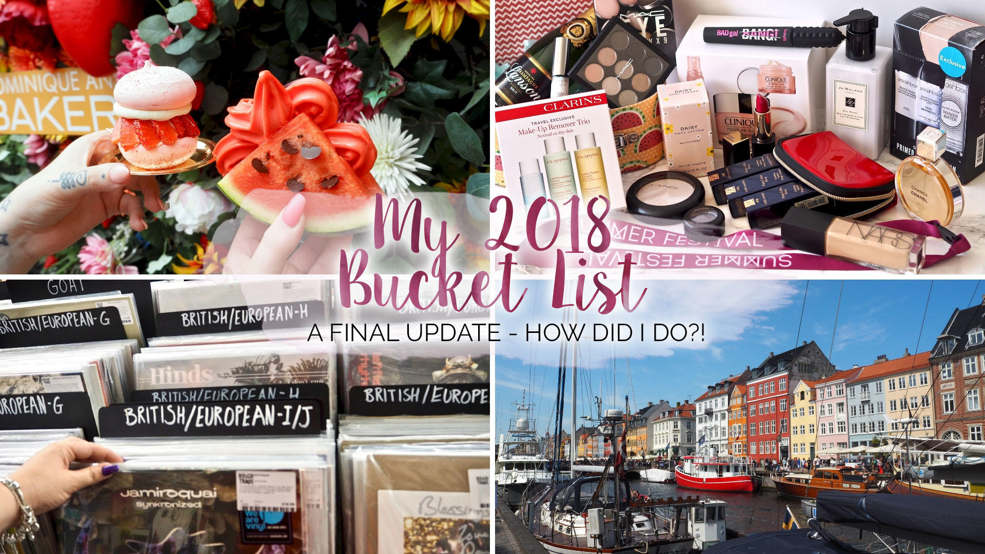 My 2018 Bucket List - How Did I Do?! || Life Lately