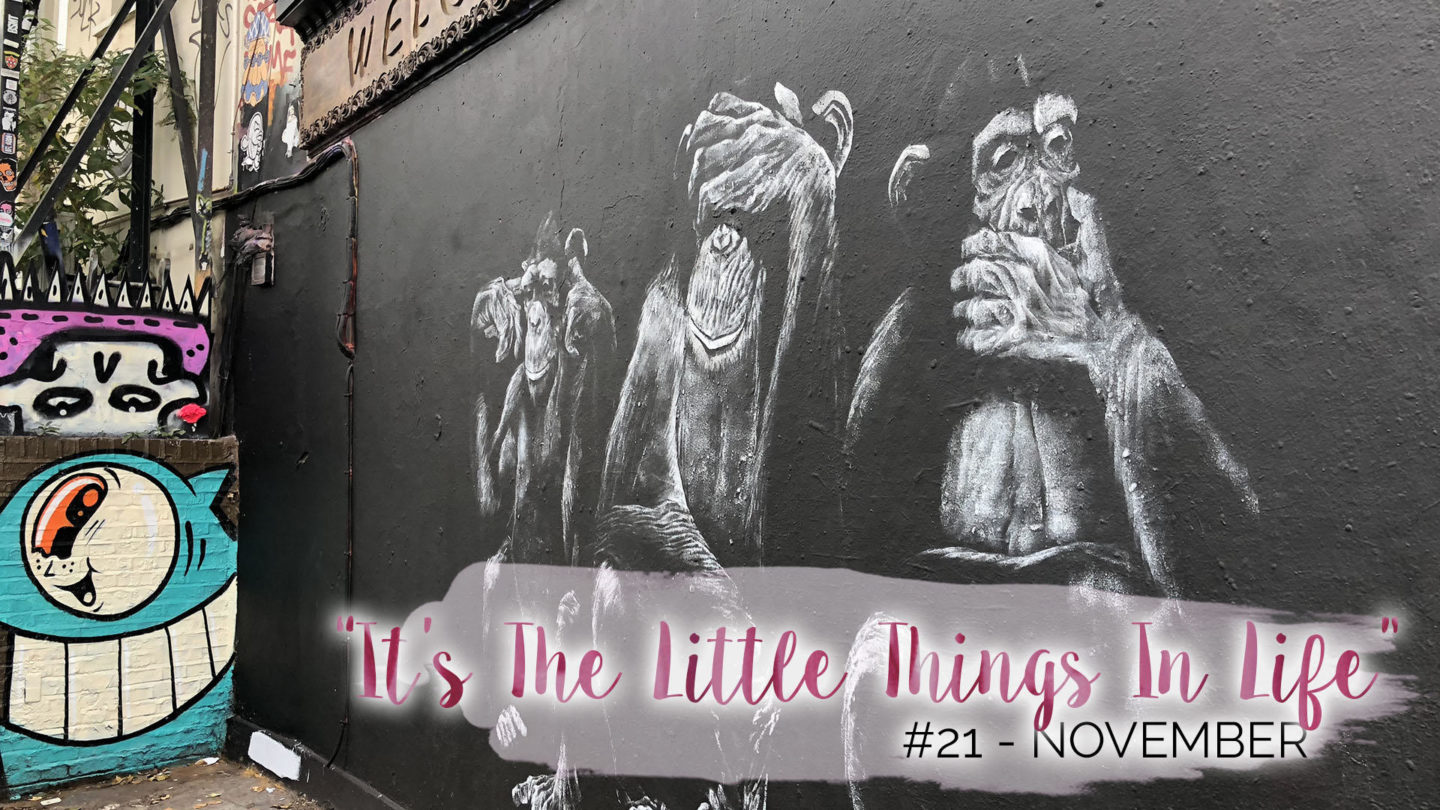 """It's The Little Things In Life"" – 21 – November 