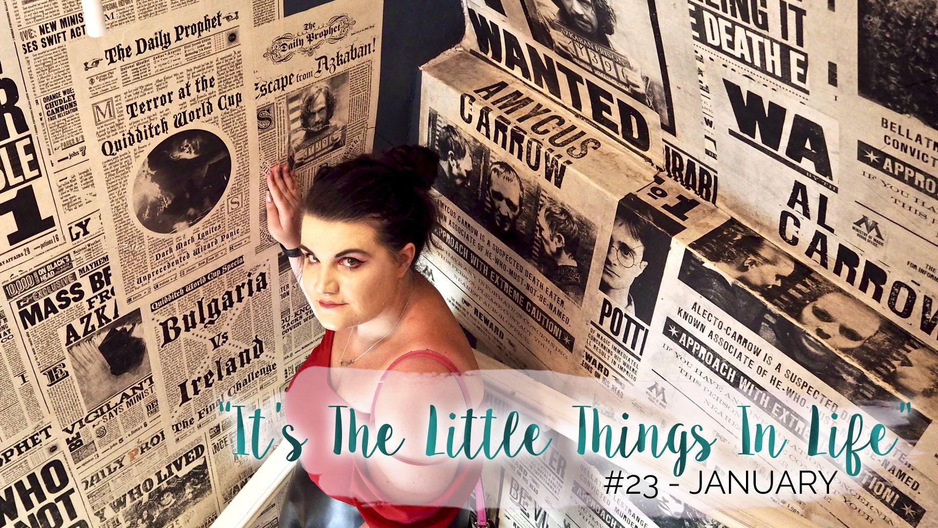 """It's The Little Things In Life"" – 23 – January 