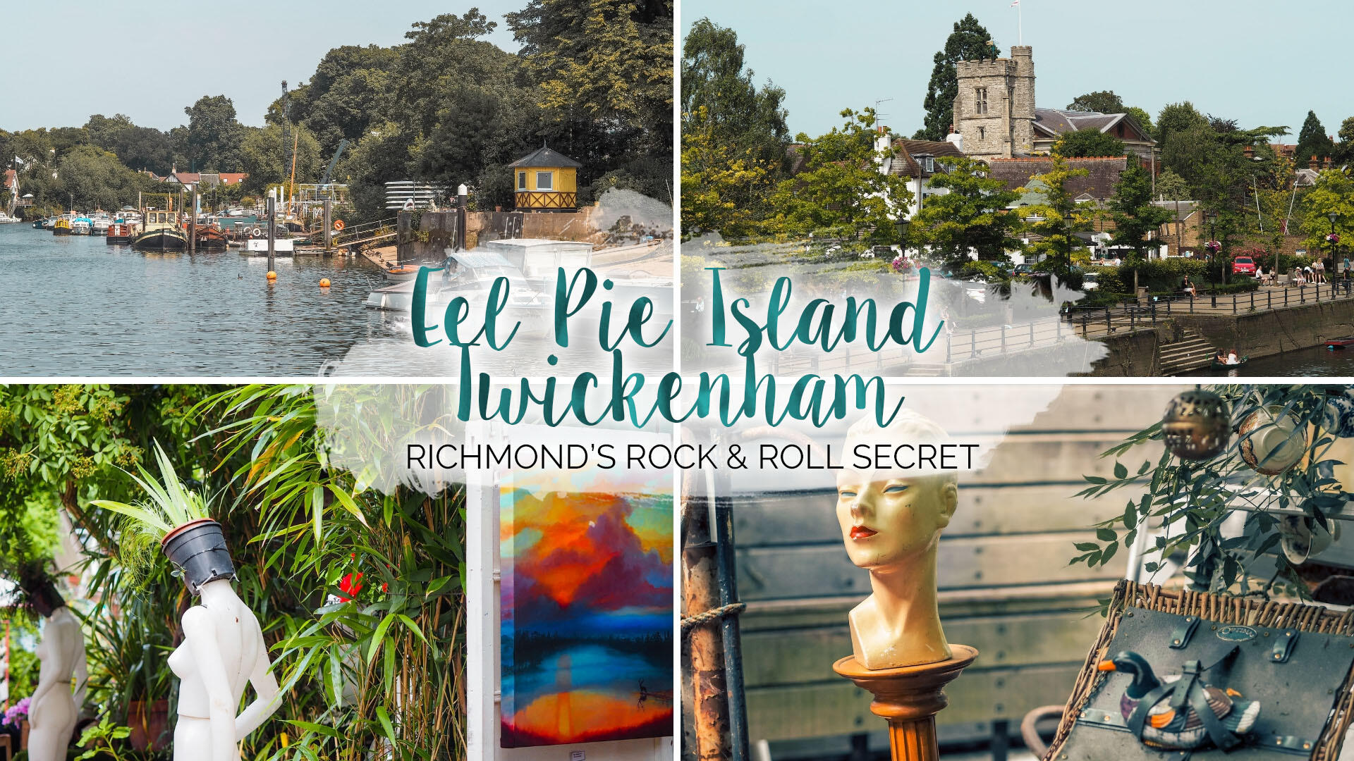 Eel Pie Island - Twickenham's Rock & Roll Secret || London