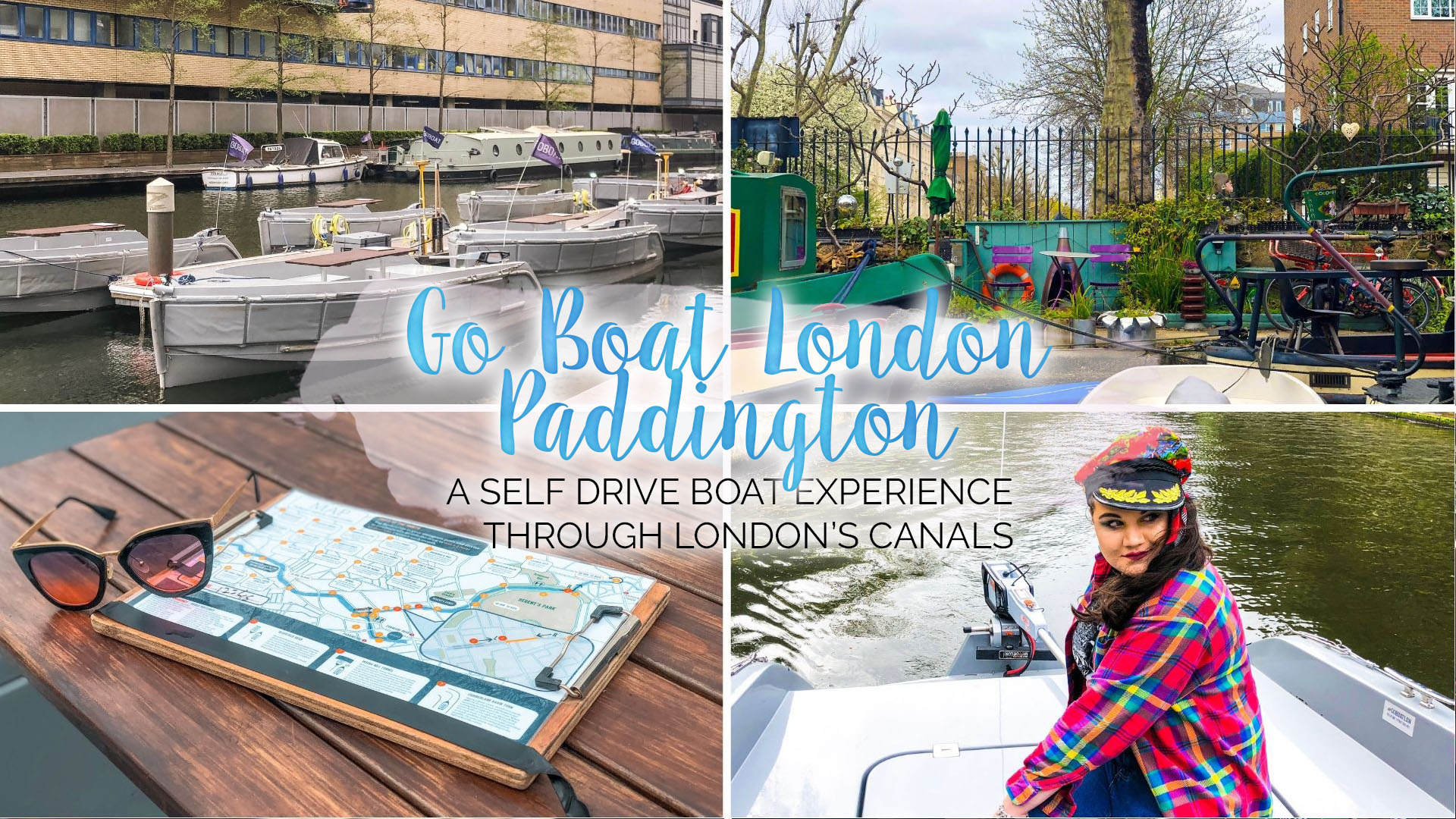 Ahoy Captain! Setting Sail with GoBoat Paddington || London