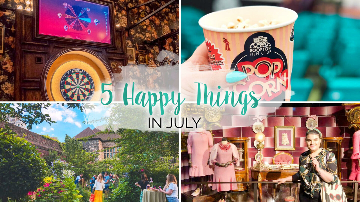 5 Happy Things – #35 – July || Life Lately