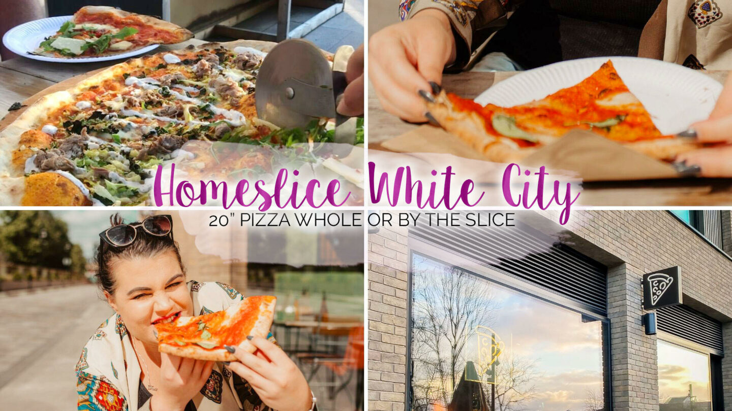 Homeslice White City Review (20″ Pizzas!) || Food & Drink