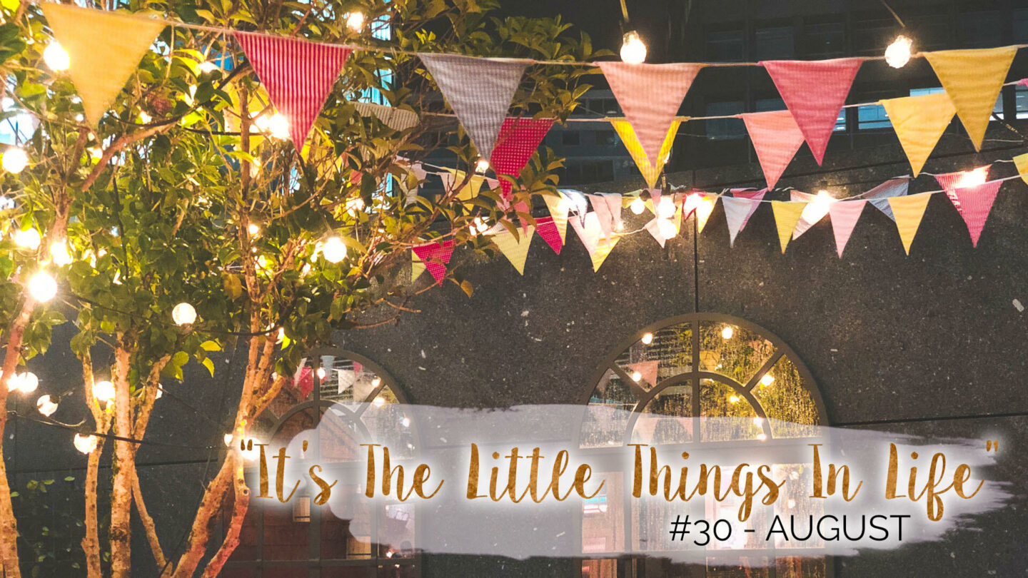 """It's The Little Things In Life"" – 30 – August 