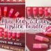 Jeffree Star Cosmetics Mini Reds & Pinks Lipstick Bundle || Beauty